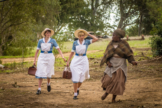 Christmas Stuffing – Call the Midwife (BBC 1); Mrs Browns Boys ...